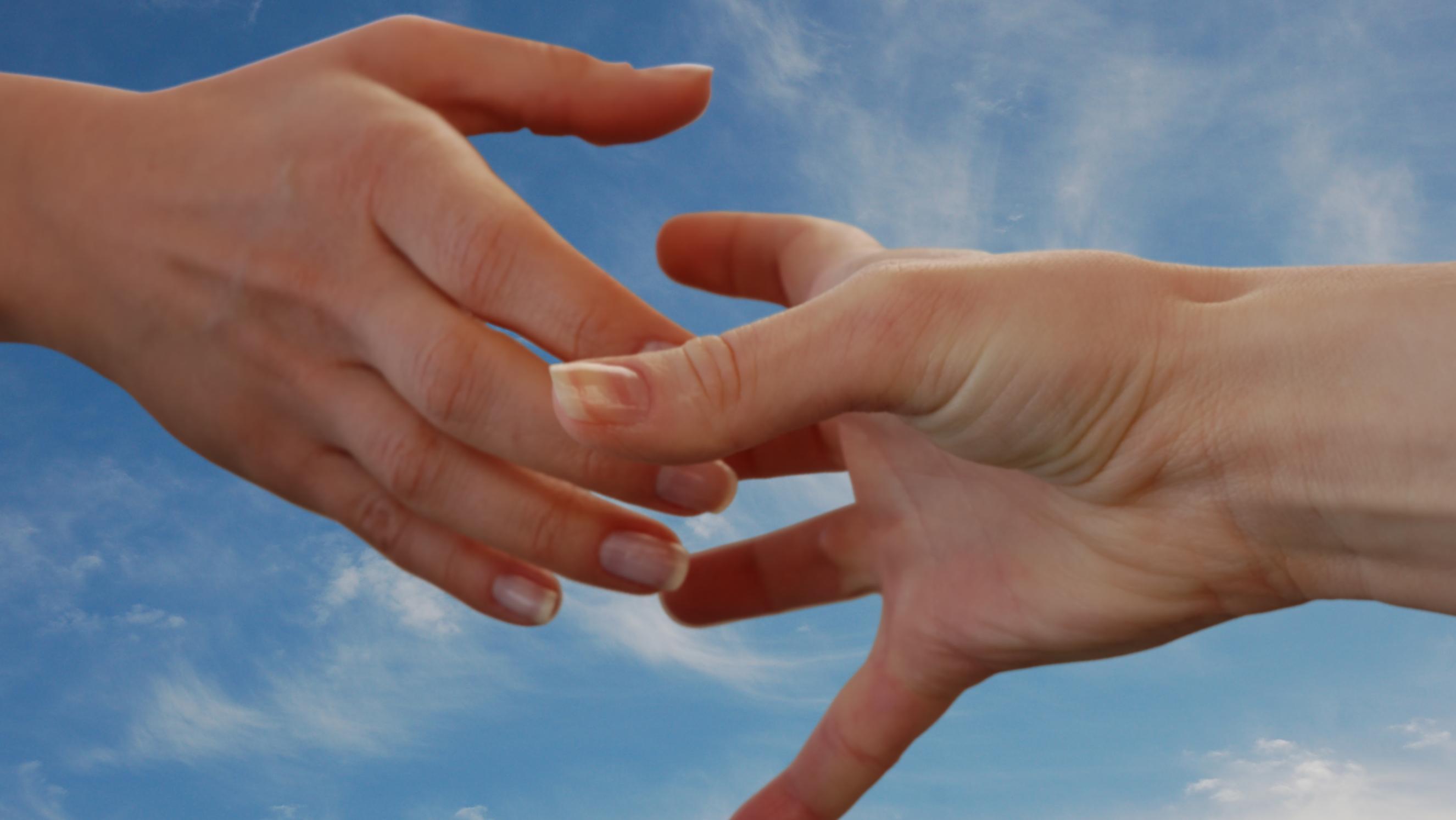 hjælpende hånd