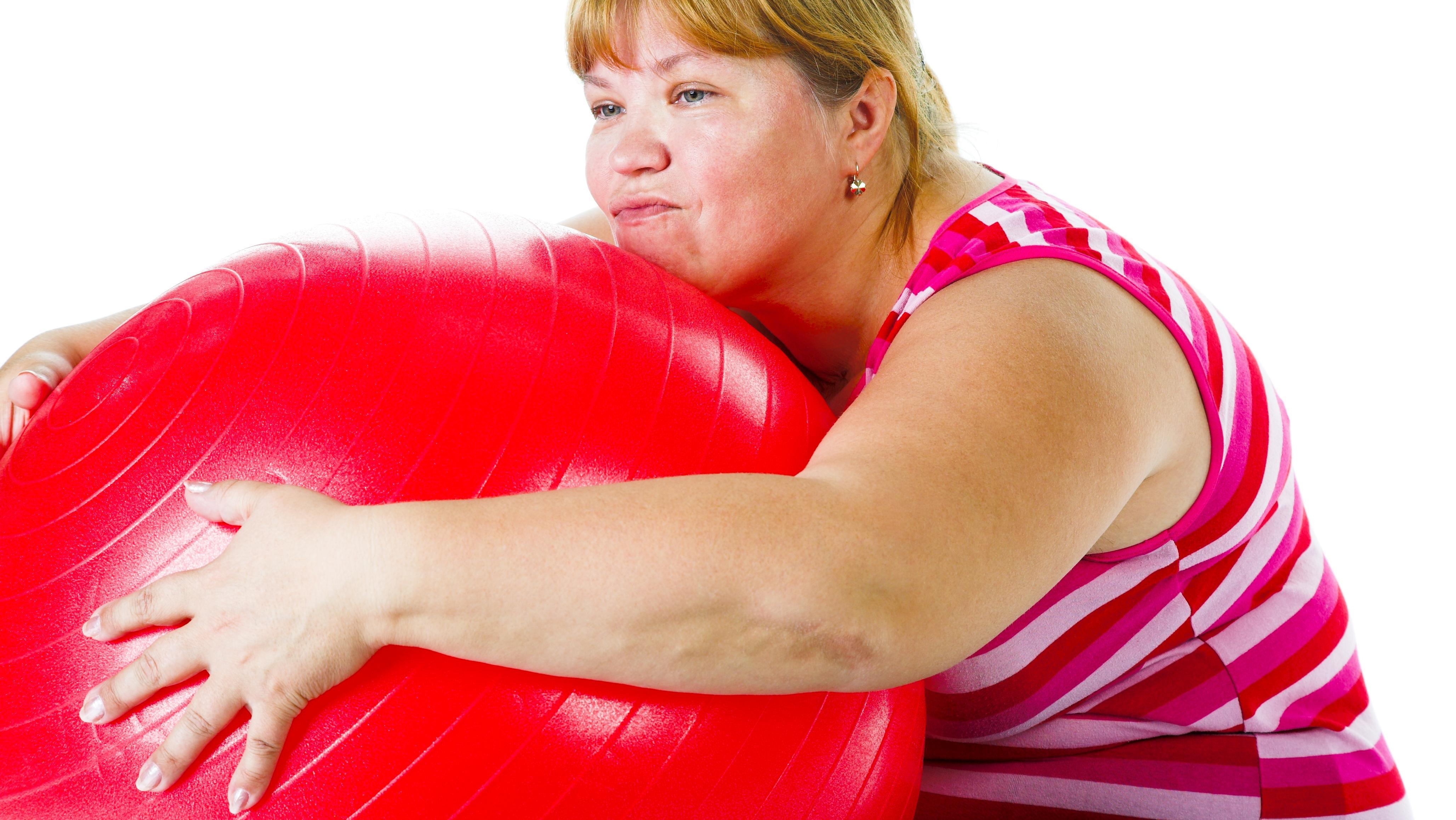 Hård træning giver overvægtige stress og kun lille vægttab | Lev nu | DR