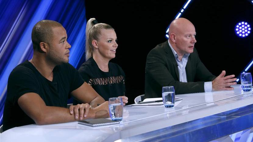 De 3 dommere: Remee, Lina og Blachman