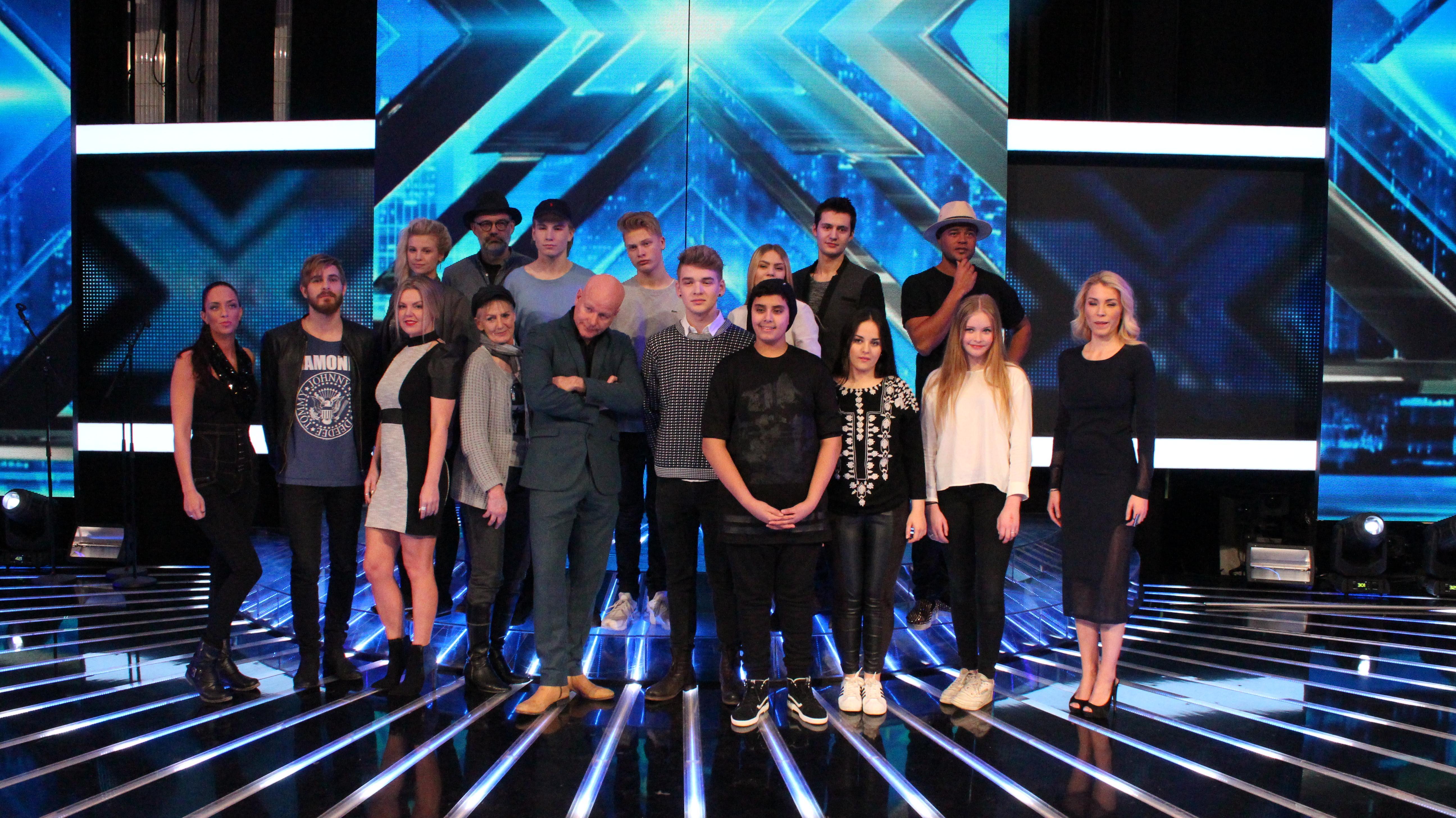 X Factor 2015 pressemøde