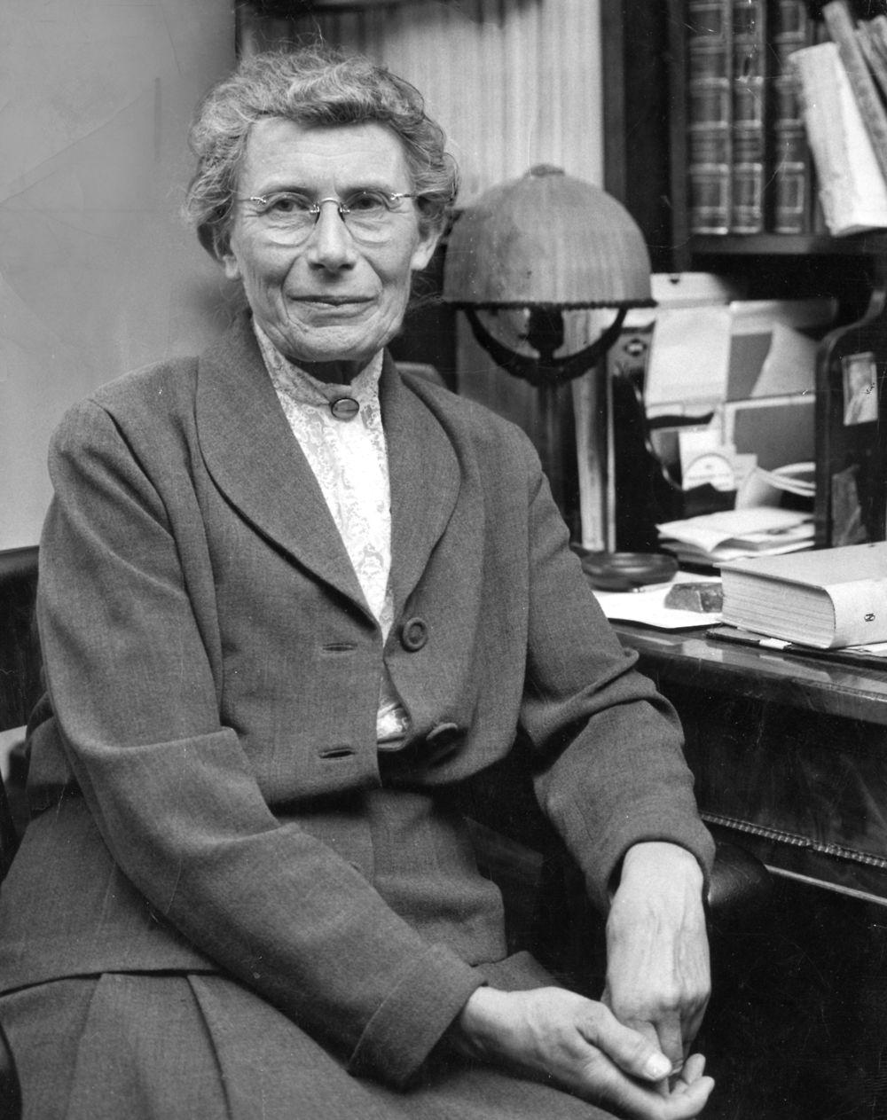 Fem ting du b��r vide om videnskabskvinden Inge Lehmann | Viden | DR