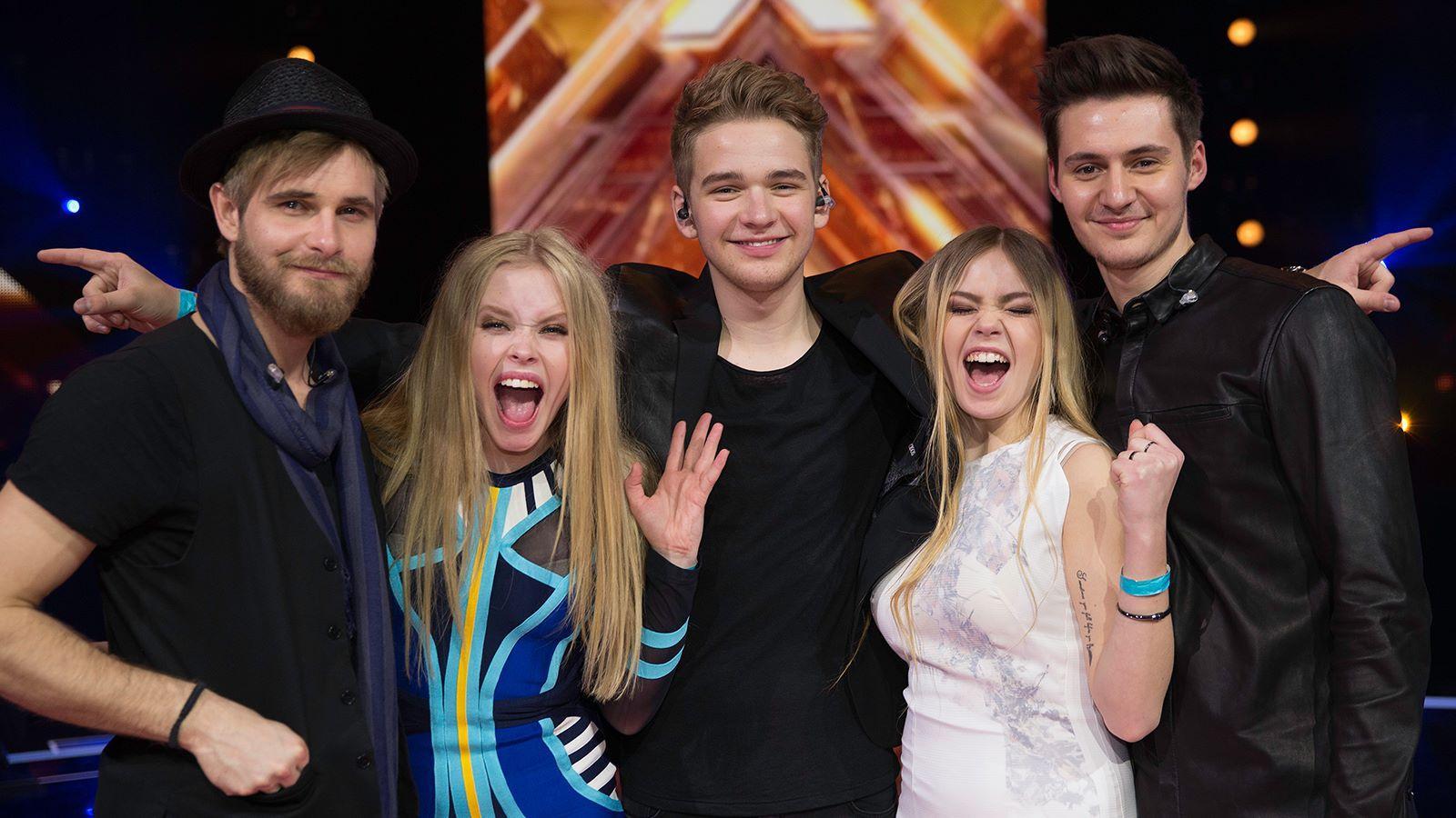 X Factor 2015 finalister
