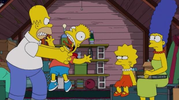 Homer f r to s soner mere at dumme sig i kultur dr - Homer simpson nu ...