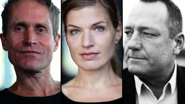 De tre finalister til DR Romanprisen 2015