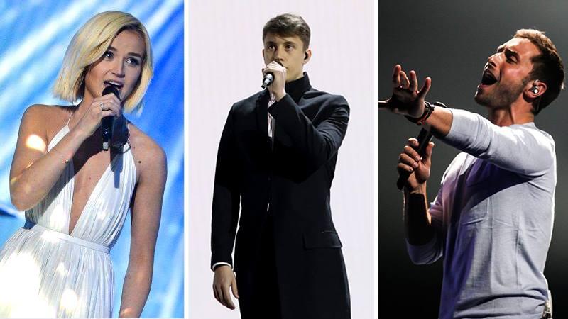 Sverige, Belgien, Rusland Eurovision 2015