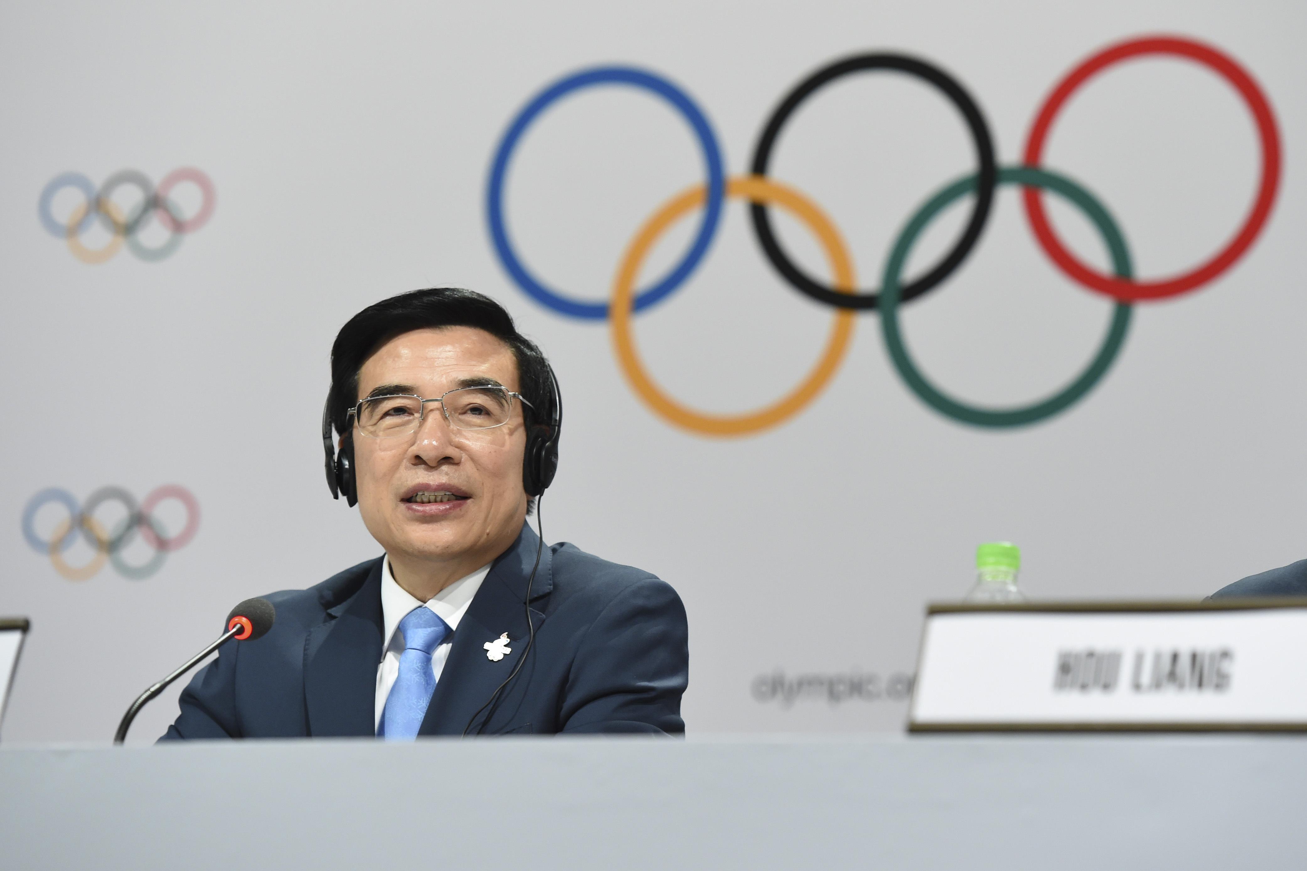 Beijings borgmester Wang Anshun