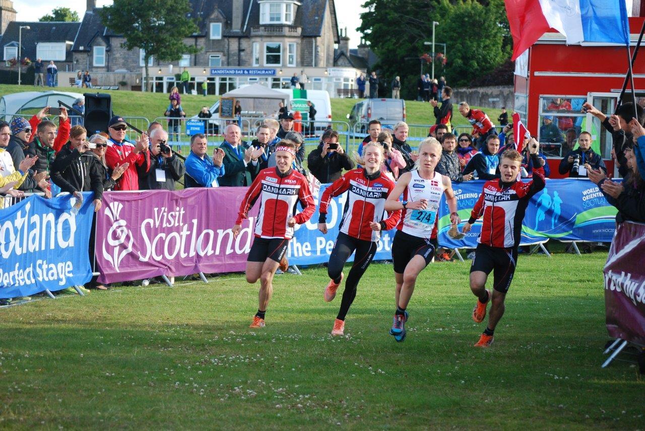 Orienteringsløb Danmark VM-guld 01/08-2015 i Skotland