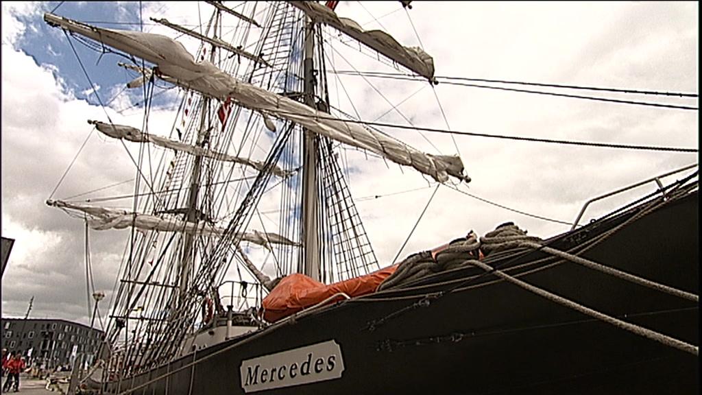 Gigantiske skibe dyster i Aalborg