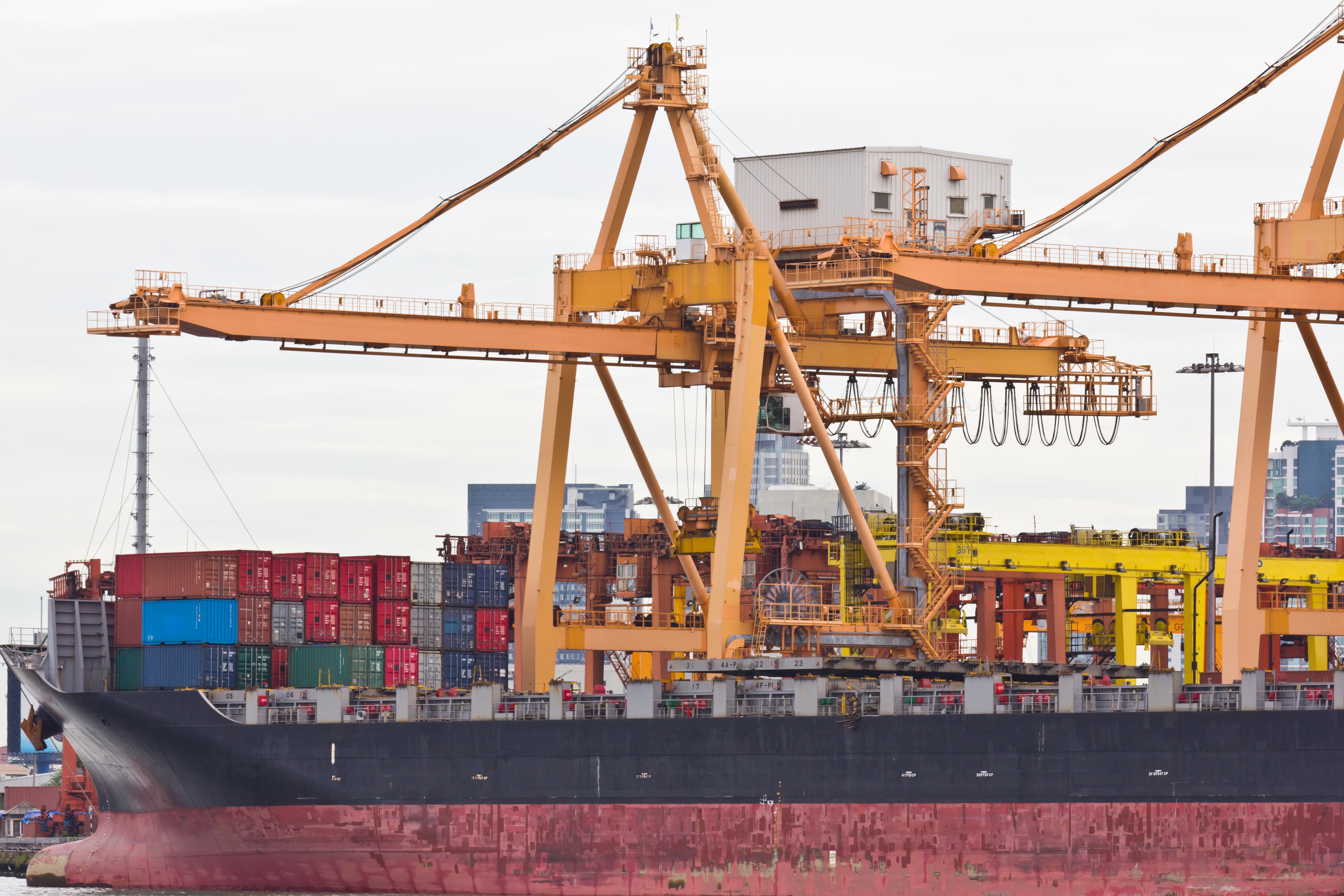 containe, fragt, eksport