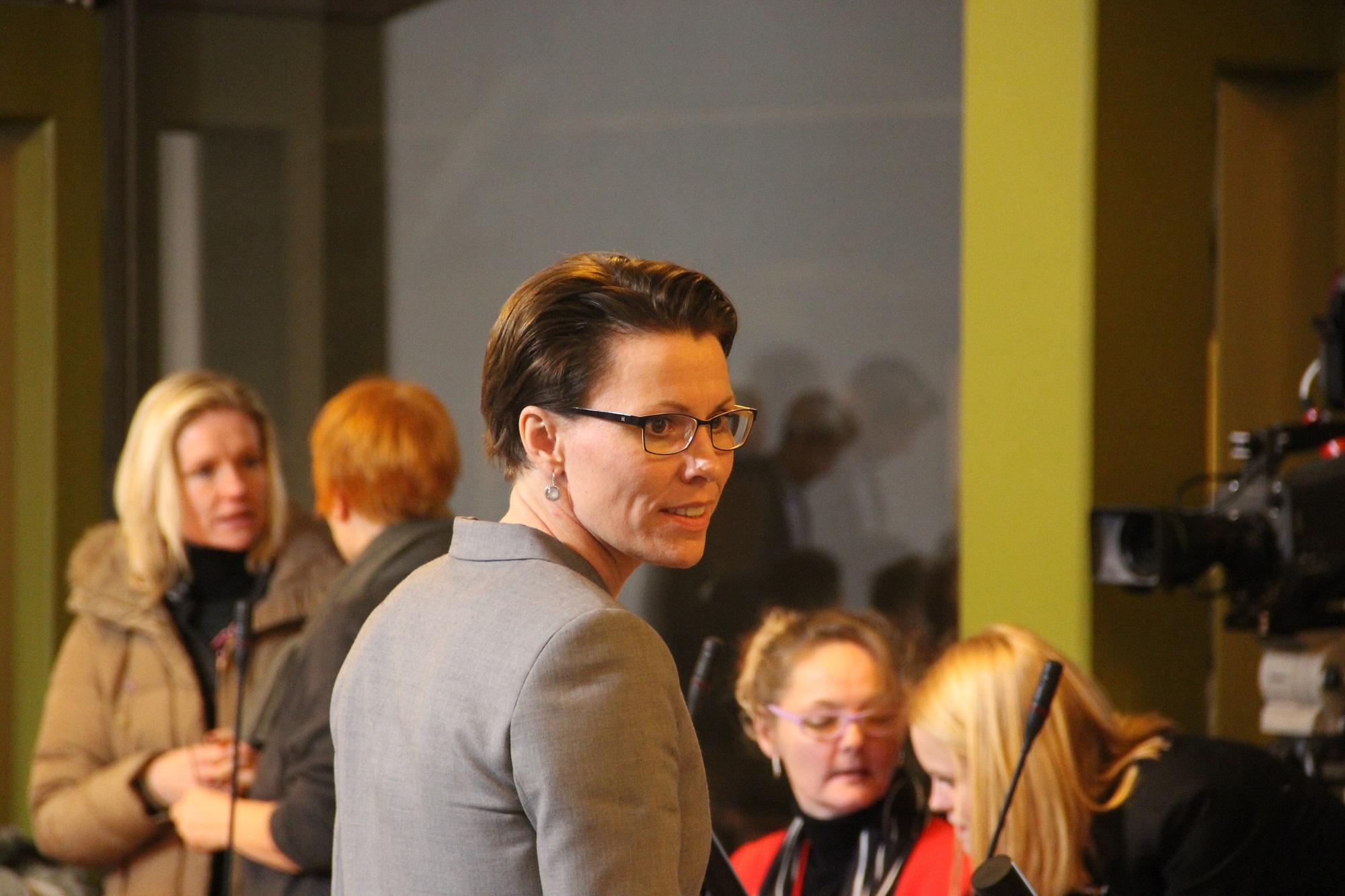 Borgmester Winni Grosbøll (S), Bornholm