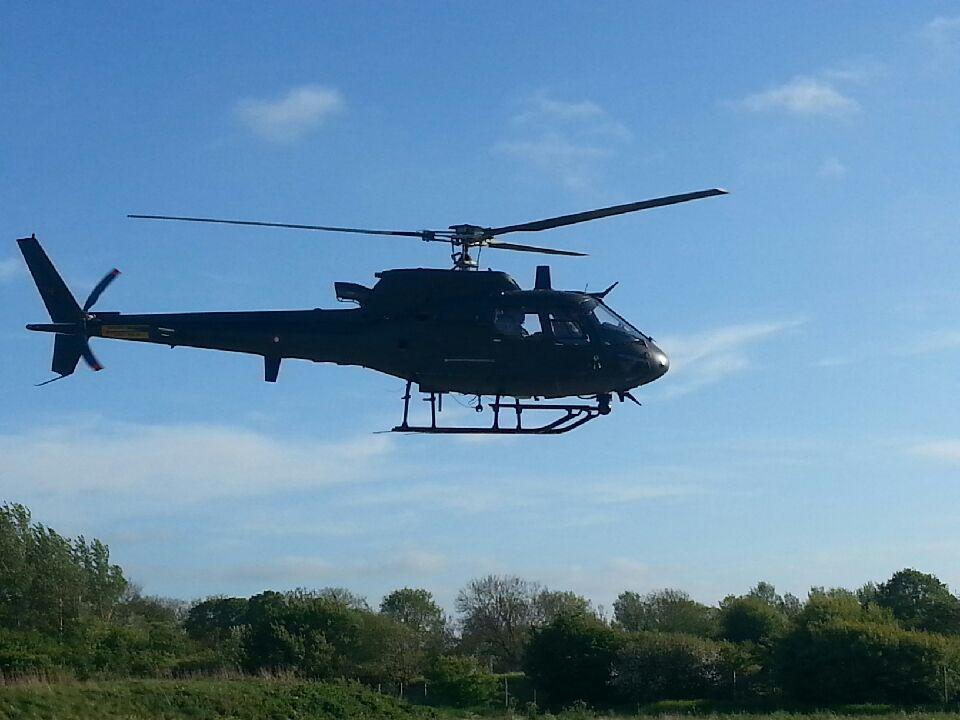 Nordjyllands Politi Helikopter