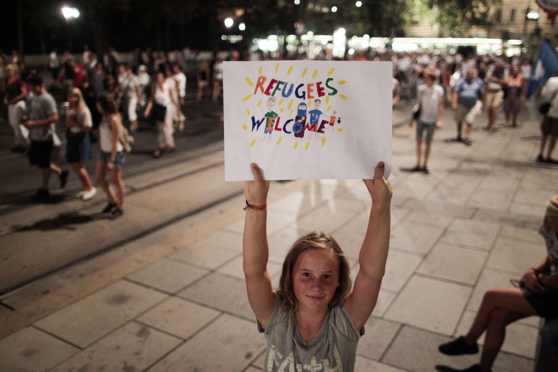 Demonstration Wien