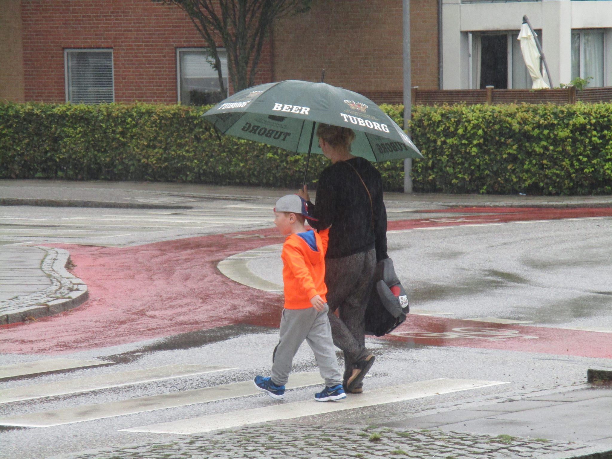 regn i Herning