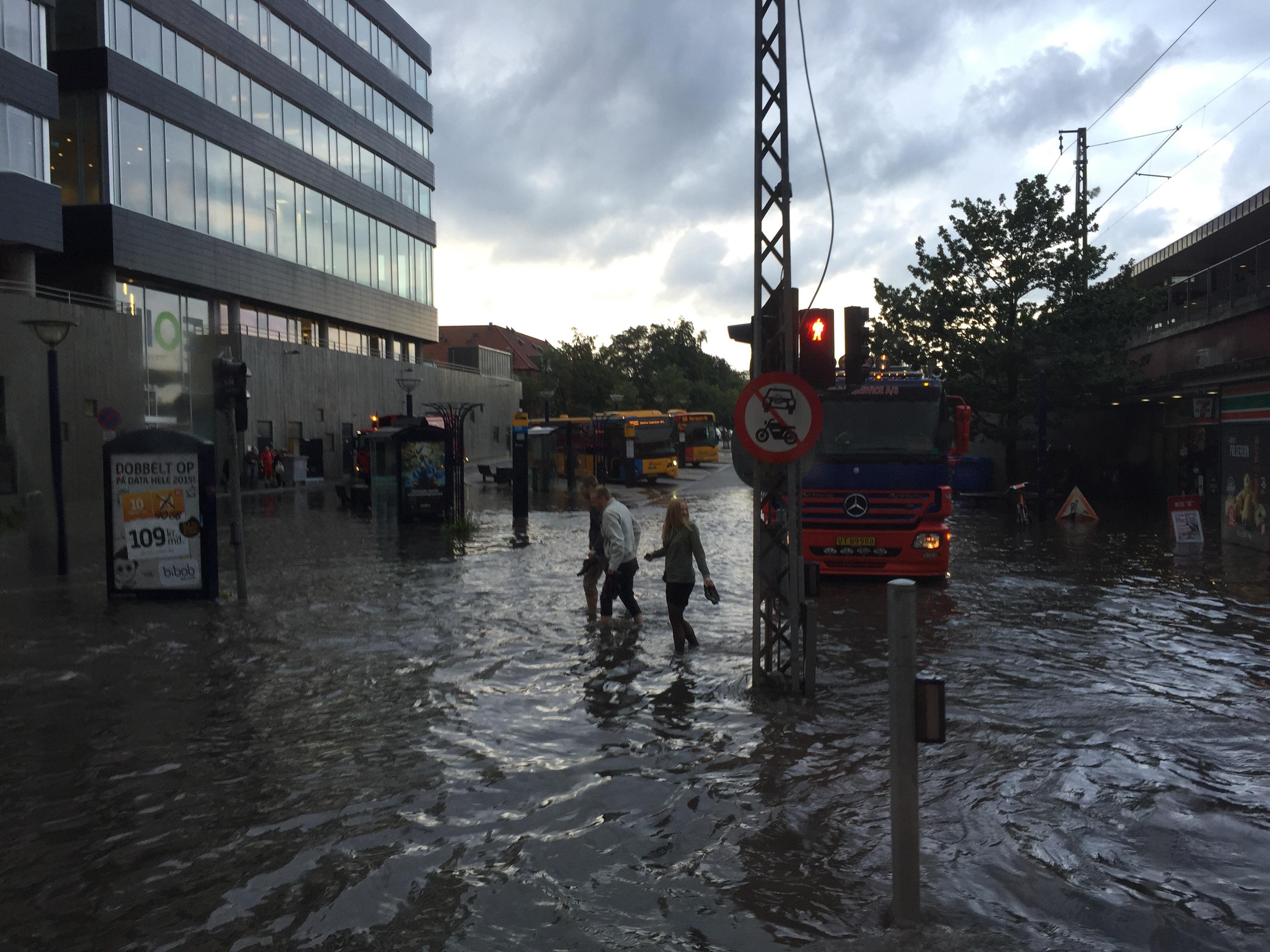 Buddinge oversvømmelse