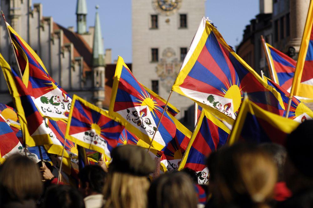 Tibets flag