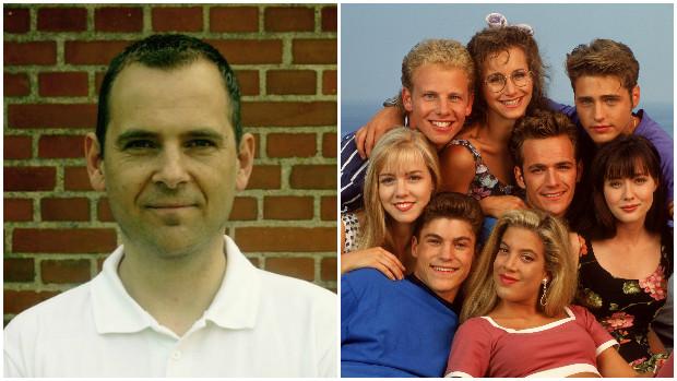 Hans V. Jensen fan af Beverly Hills 90210
