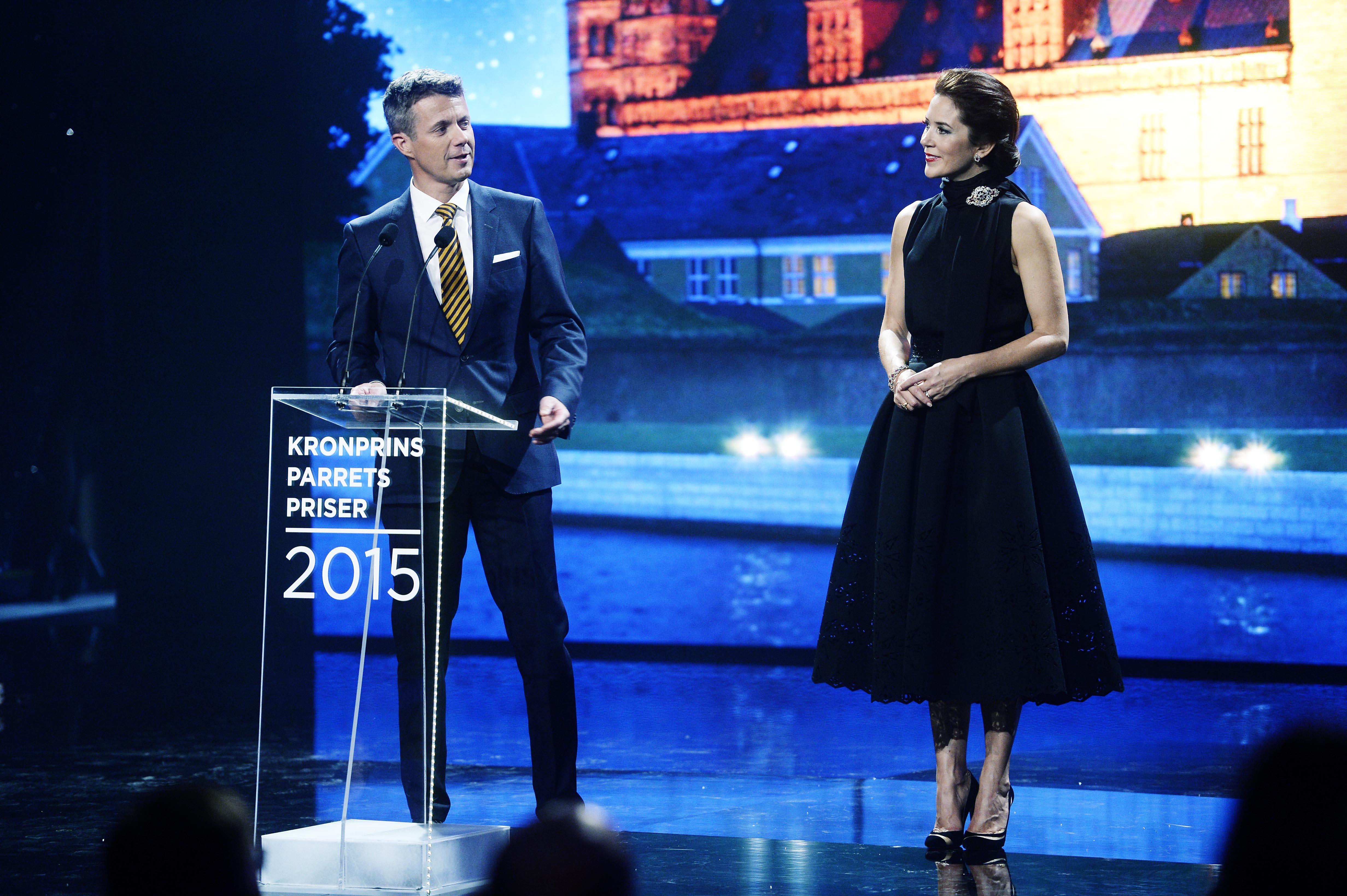 Frederik og Mary Kronprinspar Kronprinsparrets Priser 2015