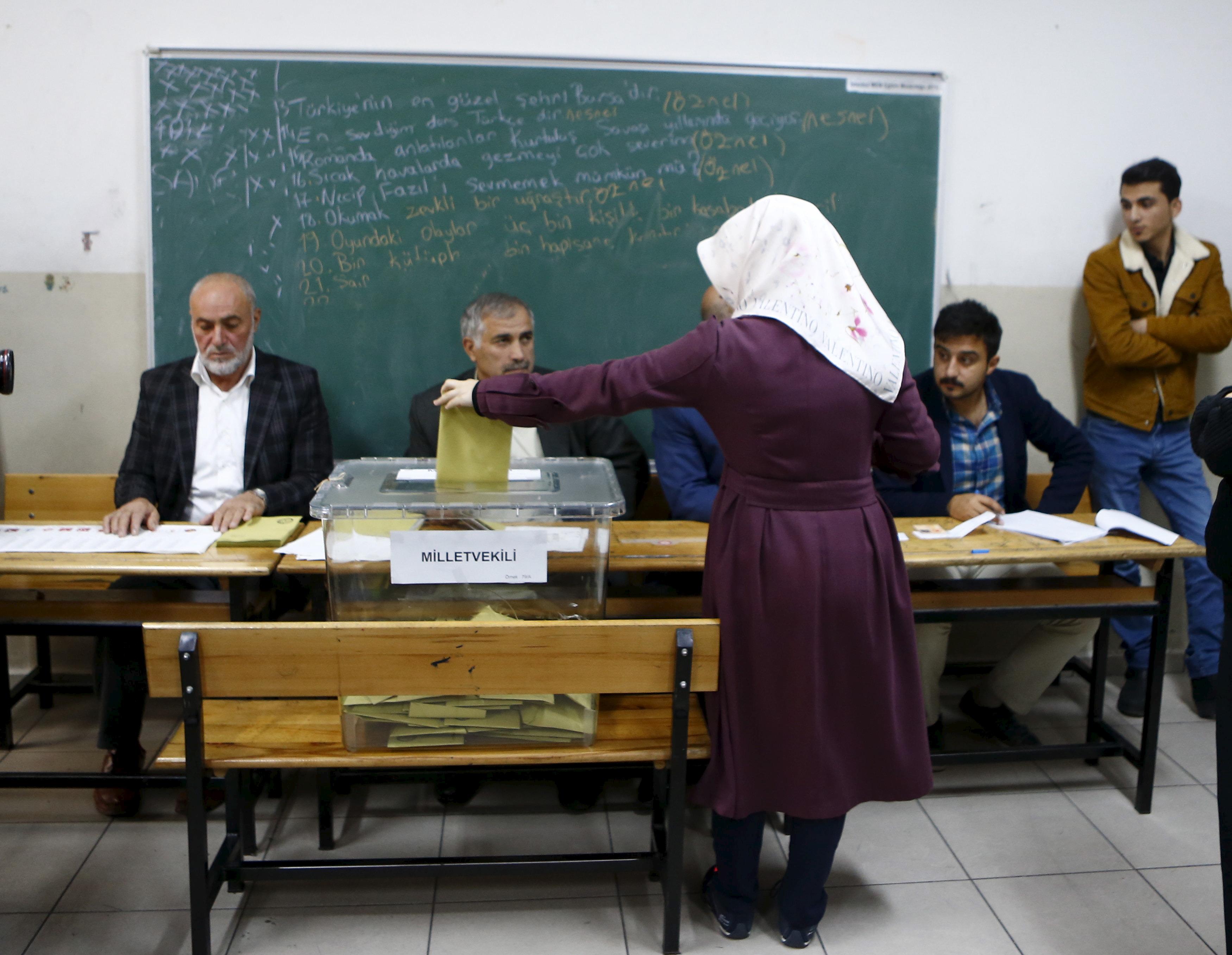 Tyrkiet valg
