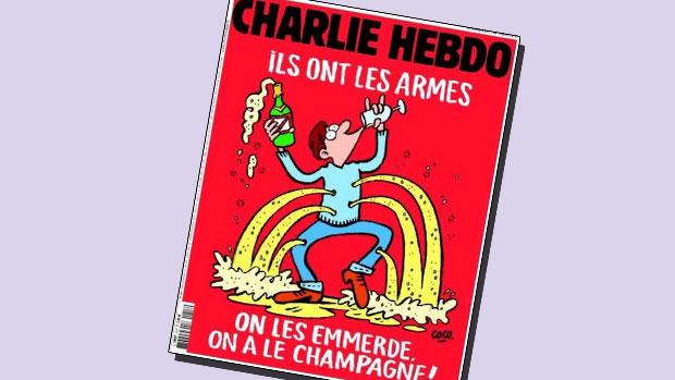 Charlie Hebdo-forside november 2015