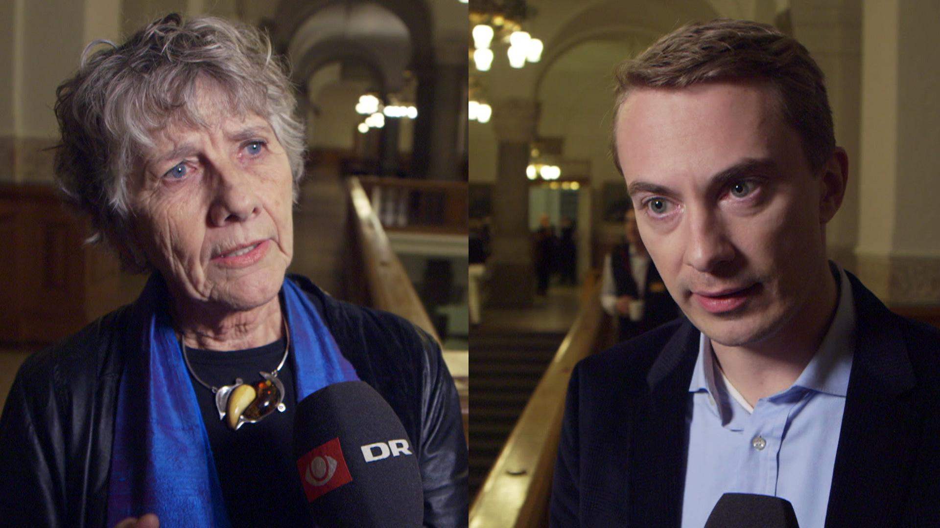 Margrethe Auken og Morten Messerschmidt