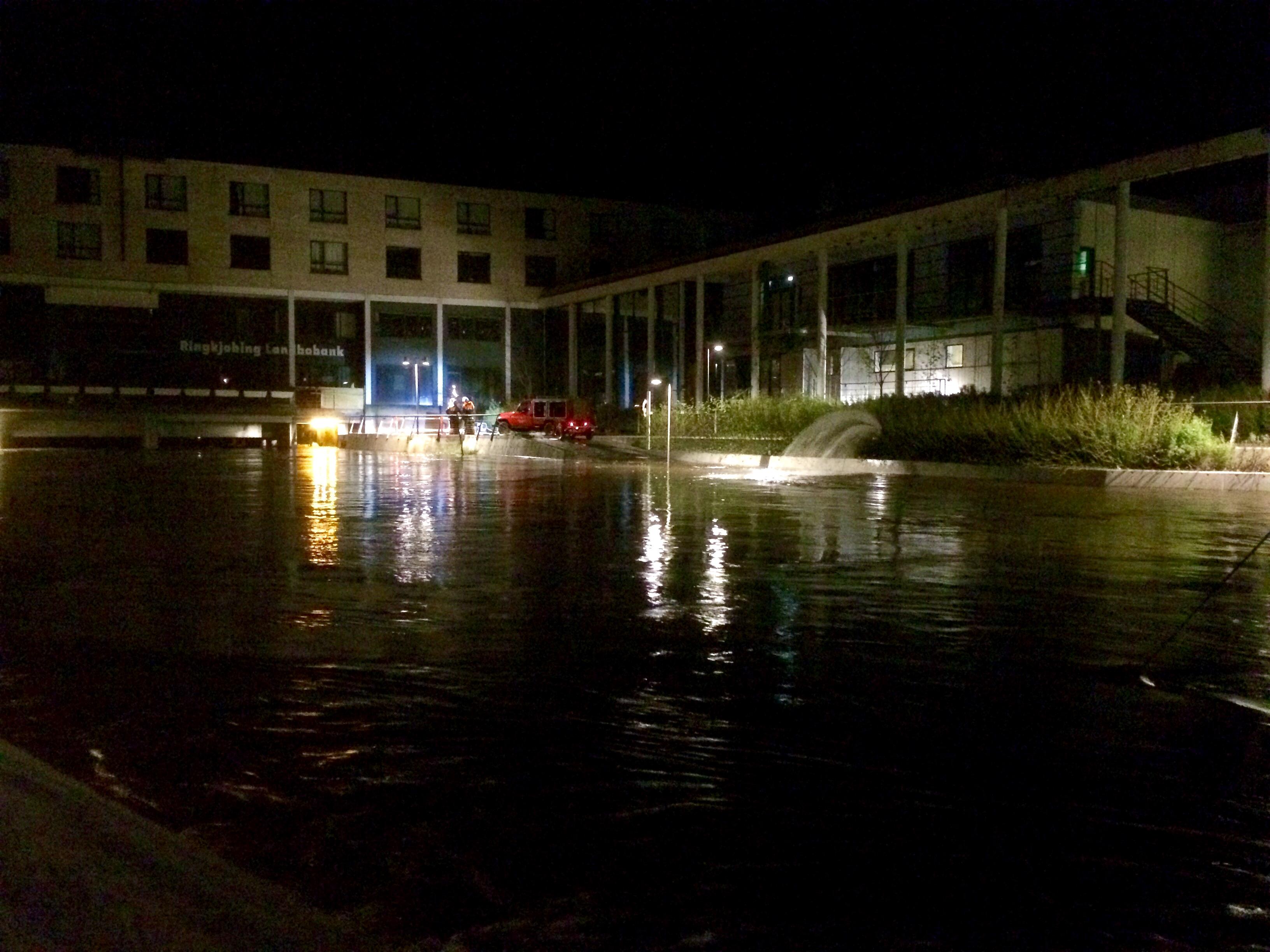 Storåen, Holstebro, oversvømmelse