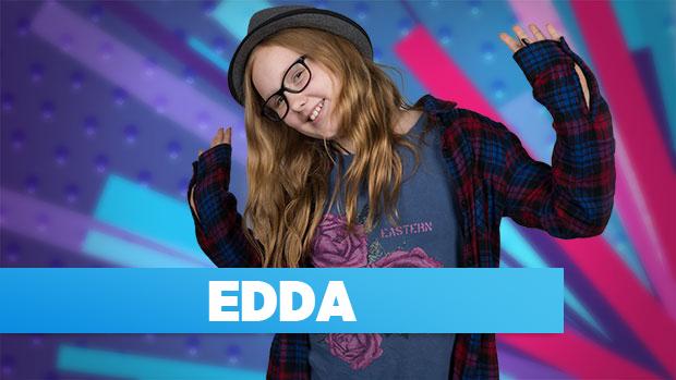 Edda er med i MGP 2016 med sangen: Helt okay
