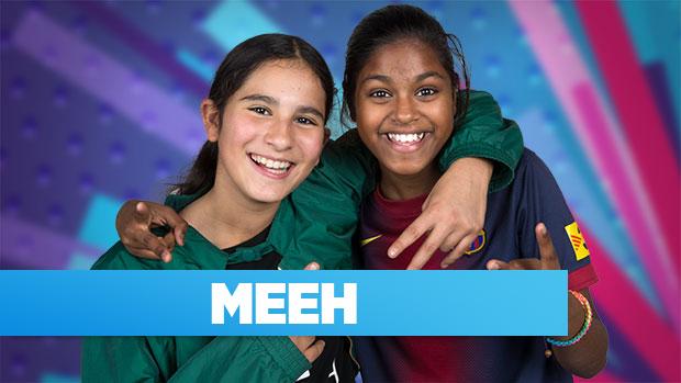 Meeh deltager i MGP 2016 med sangen: Os 2 for altid
