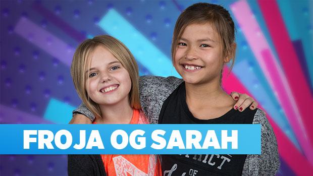 Froja & Sarah er med i MGP 2016 med sangen: Hvor bliver du af?