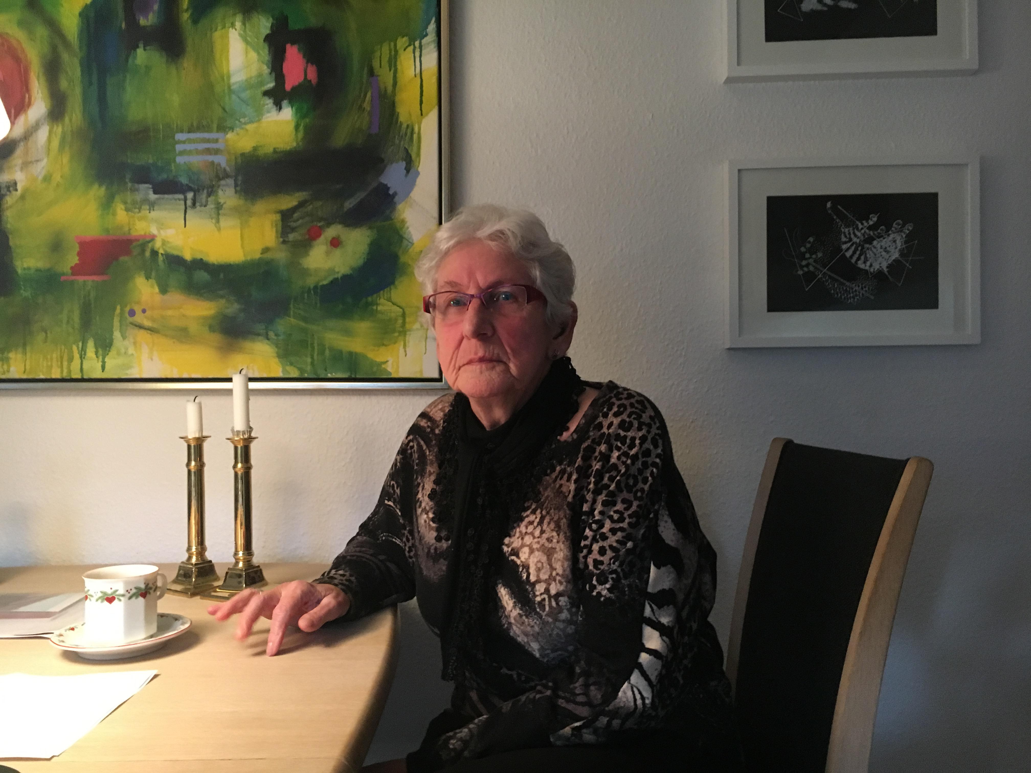 82-årige Edith Knudsen fra Skive