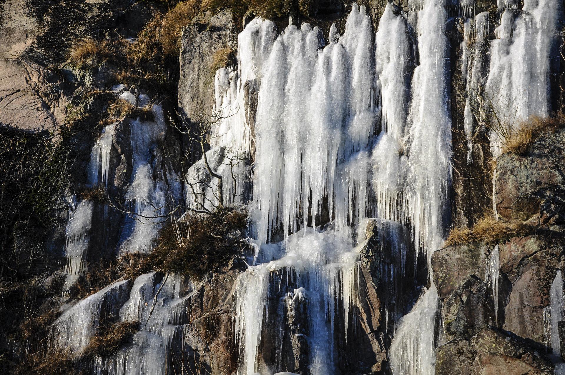 isvandfald