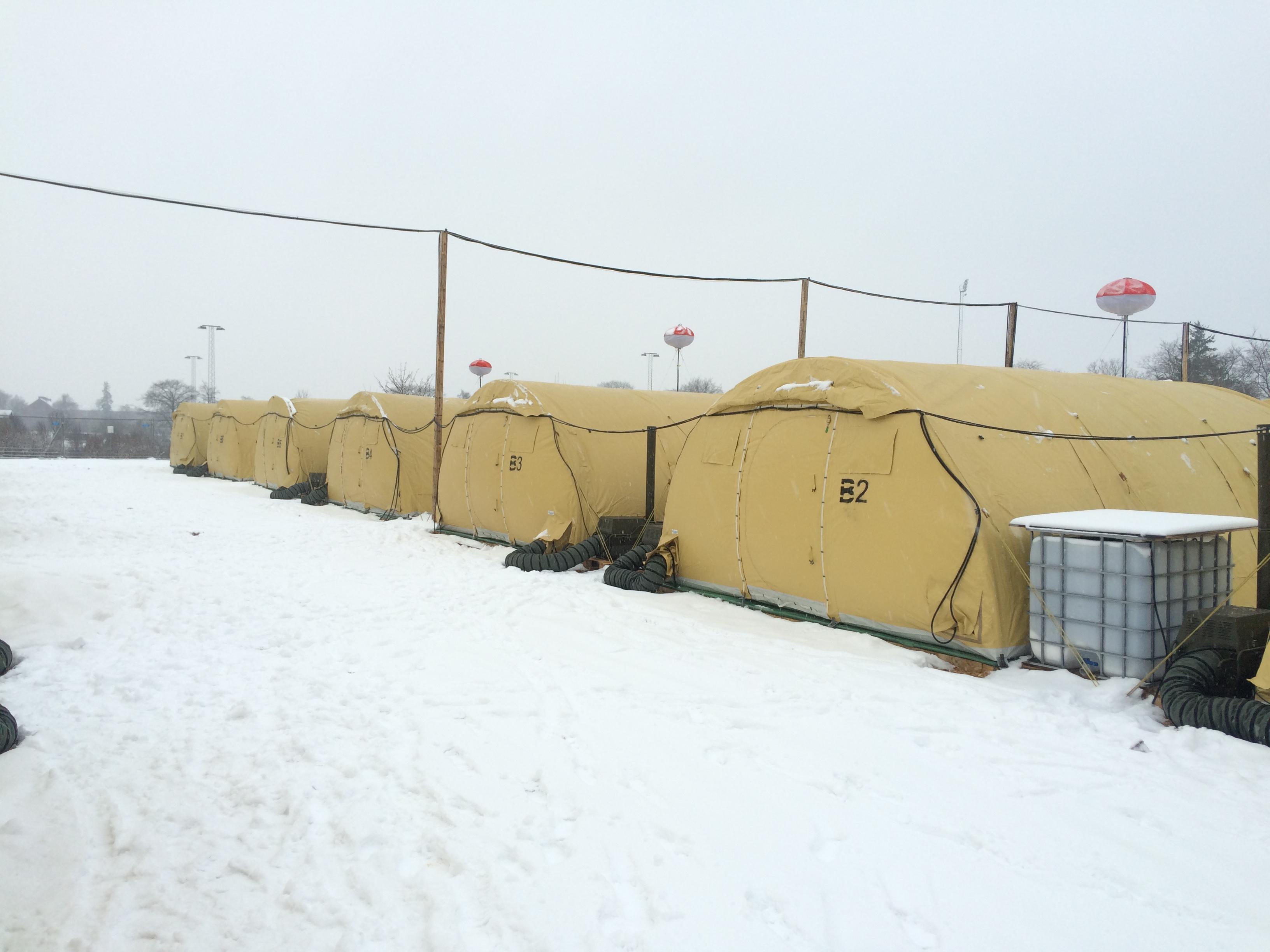 Teltlejr Næstved 2