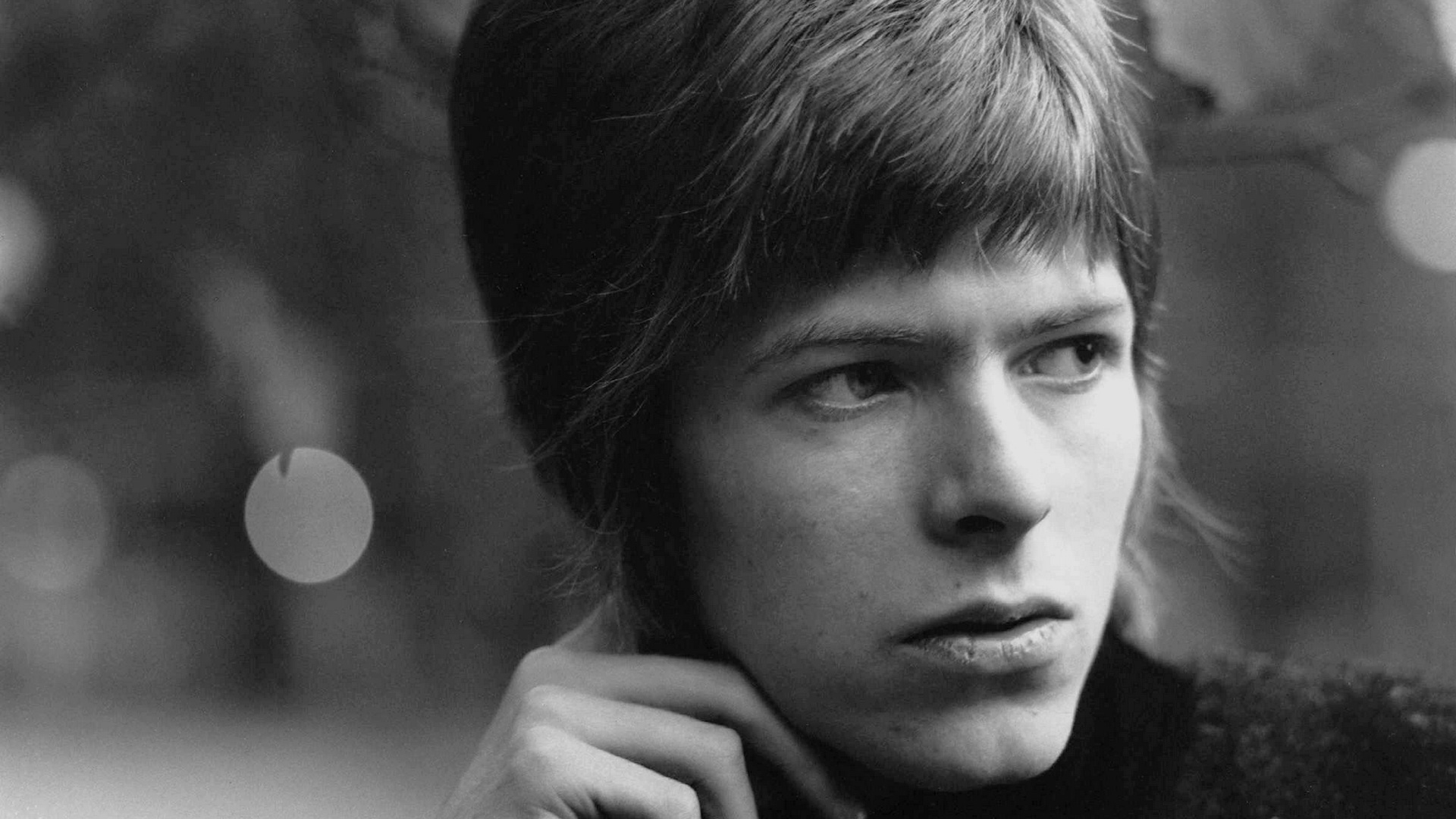 David Bowie ung
