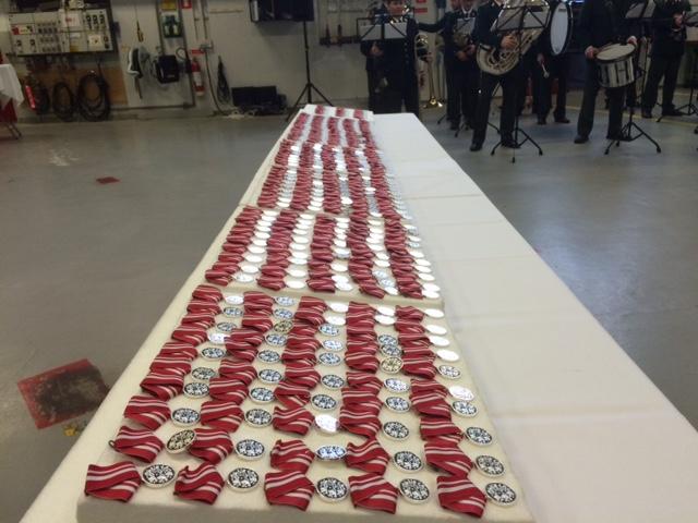 Medaljer til udsendte