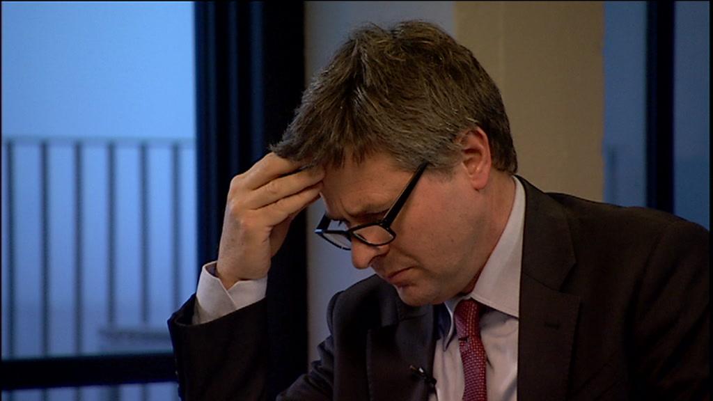 Jesper berg, direktør i Finanstilsynet