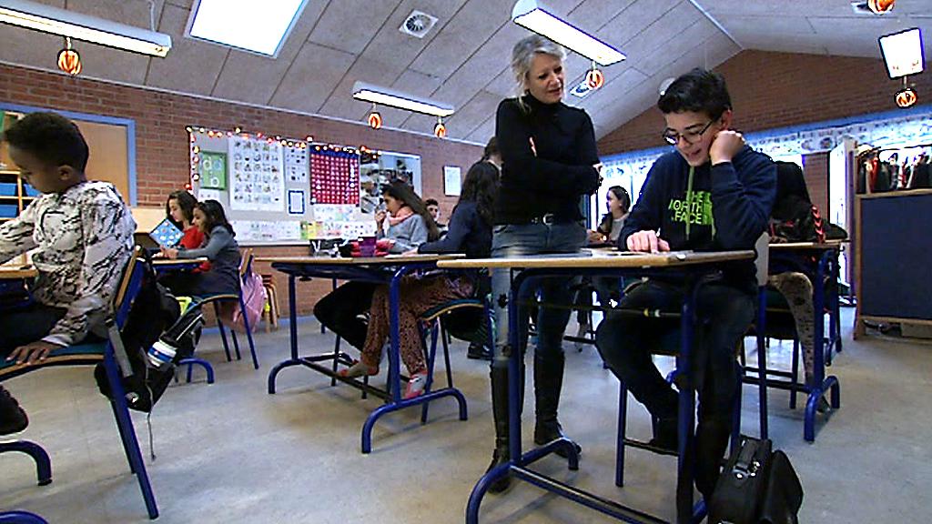 Modtageklasse på Rolf Krake Skole i Holstebro