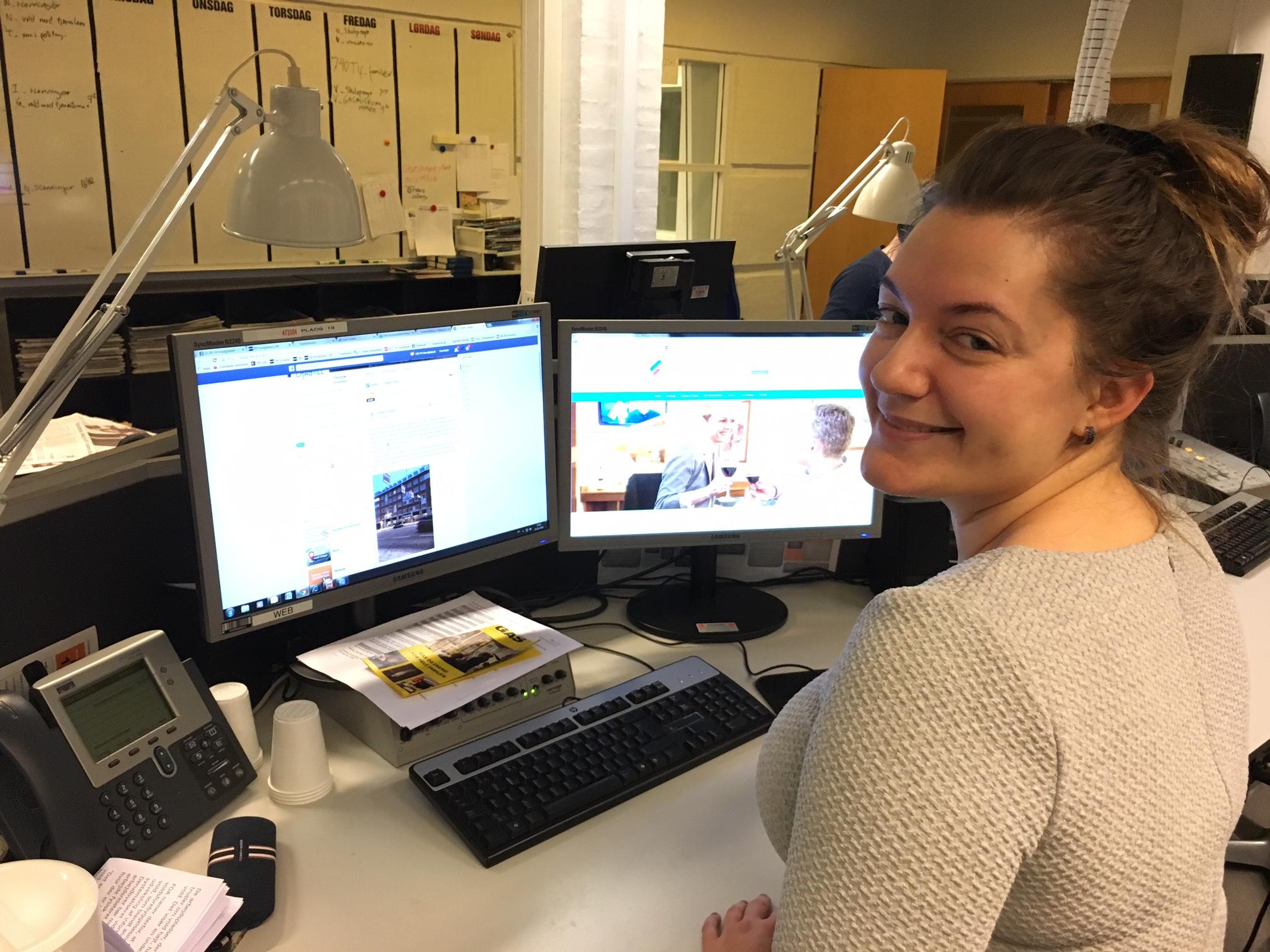 Sophie Svenstrup, marketingschef Hotel Chagall i Aalborg