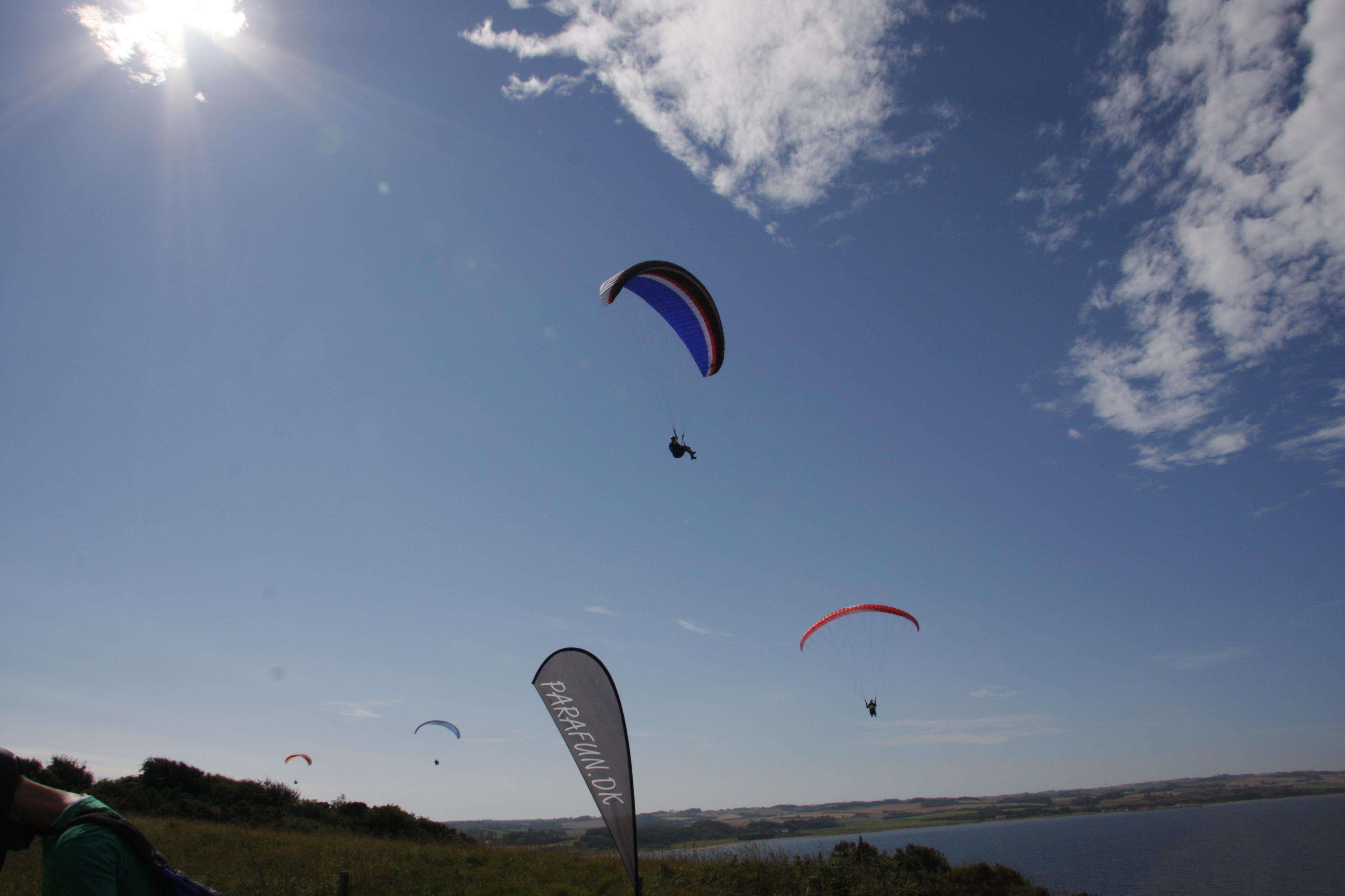 Paragliding, hanggliding, Struer