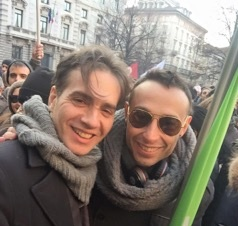 Yuri Guaiana, formand for den italienske organisation for homoseksuelle, Certi Diritti