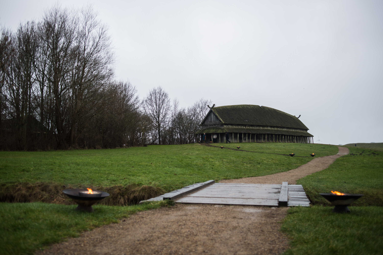Langhuset på Trelleborg