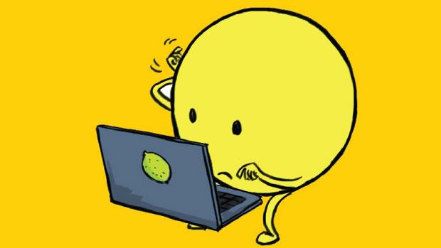 Fup på nettet