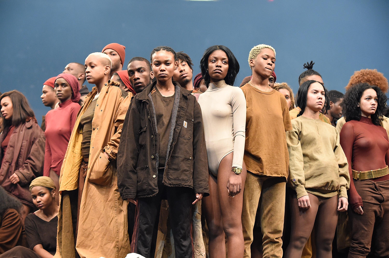 Kanye West modeshow