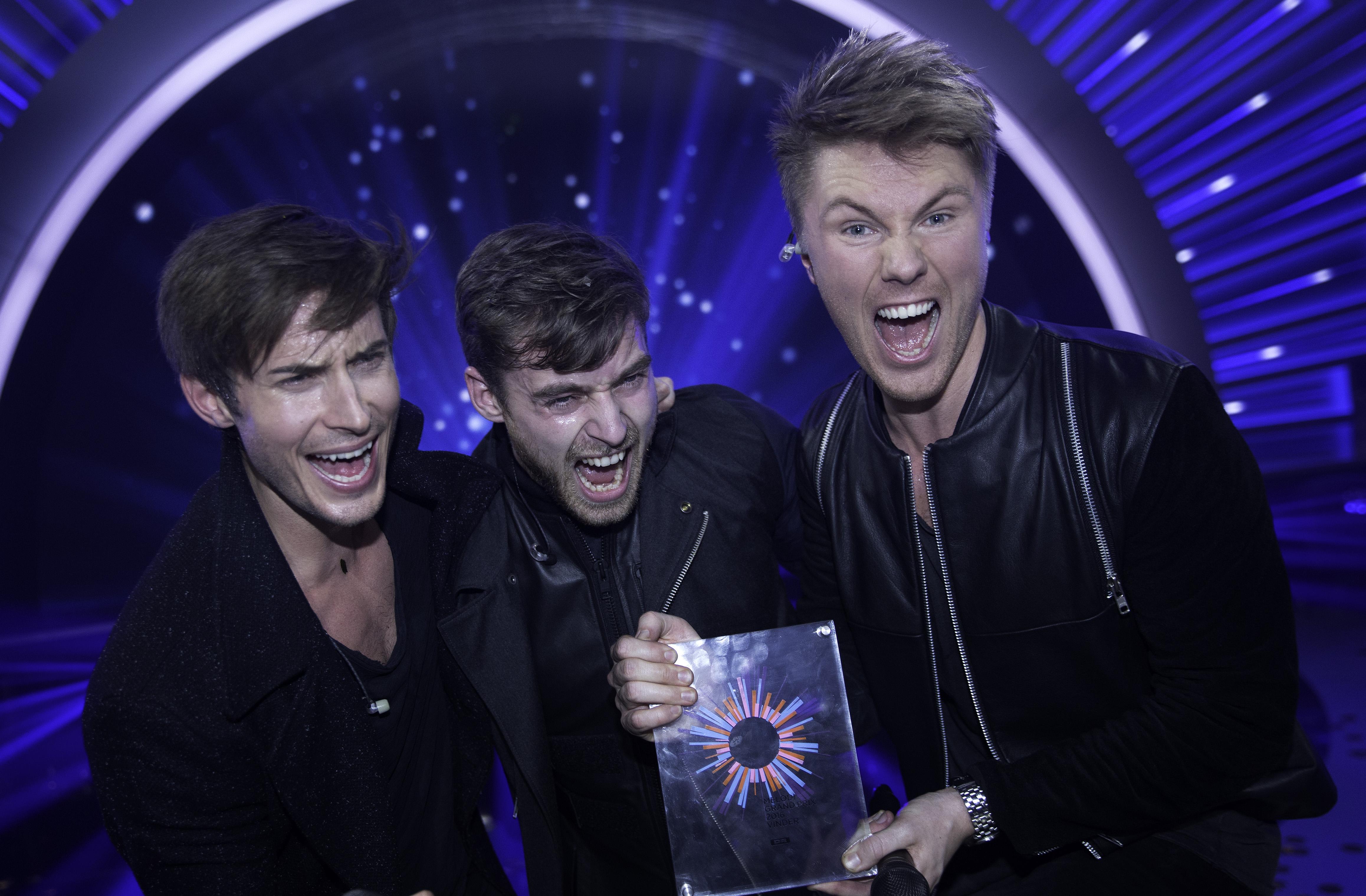 Lighthouse X vinder Melodi Grand Prix