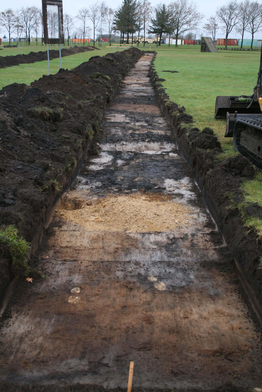 Udgravning, kaserneområde Nørresundby