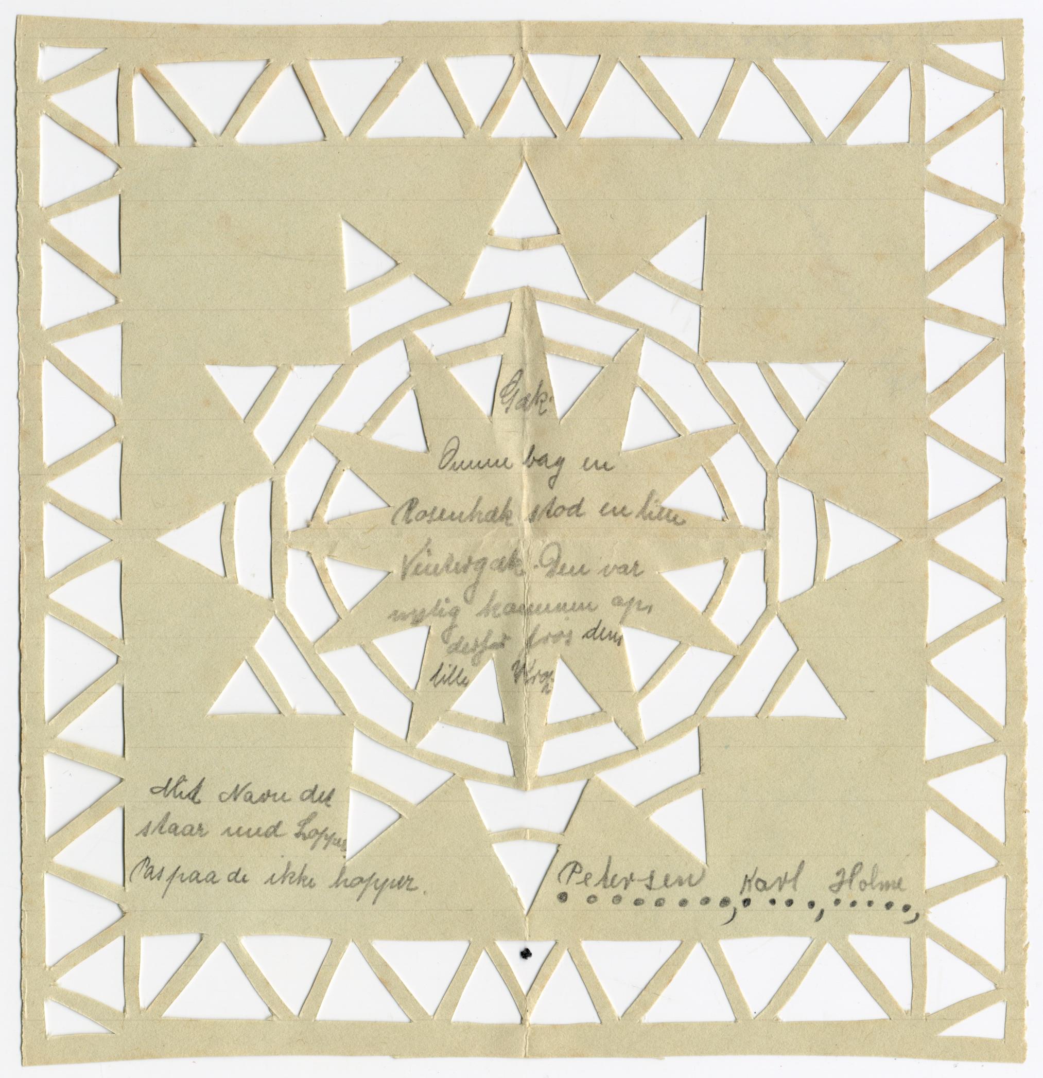 Gækkebrev fra Post & Tele Museum