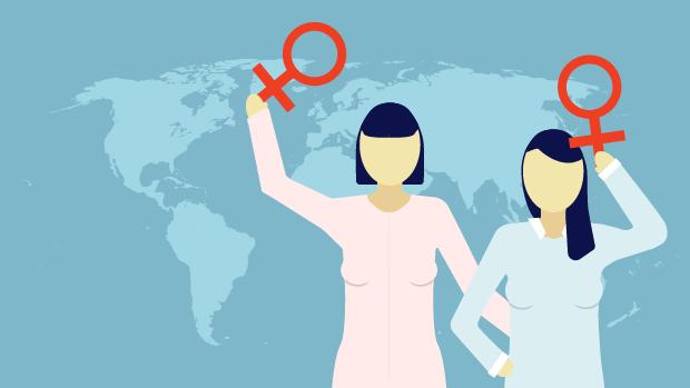 kvindernes kampdag teaser grafik
