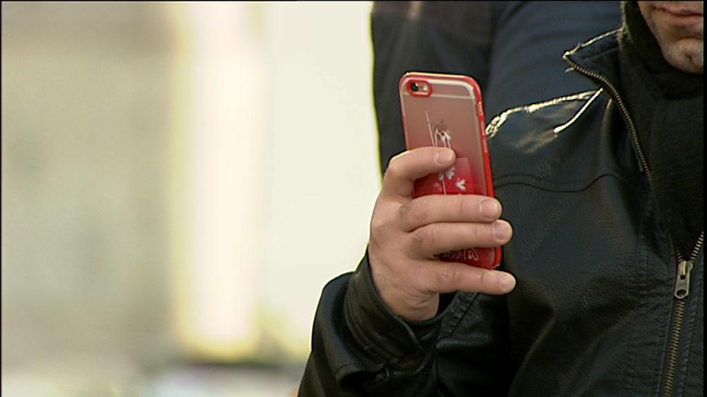 Mobiltelefon med på rejsen