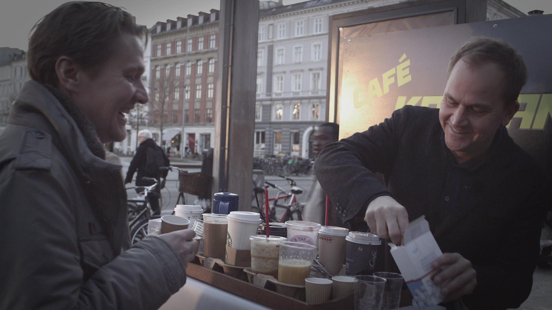 Kontant kaffe sukker