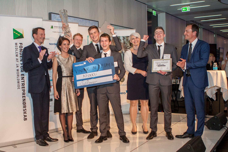 Vinderne af DM i Entreprenørskab 2016