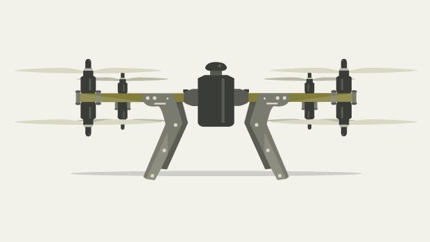 Drone teaser grafik