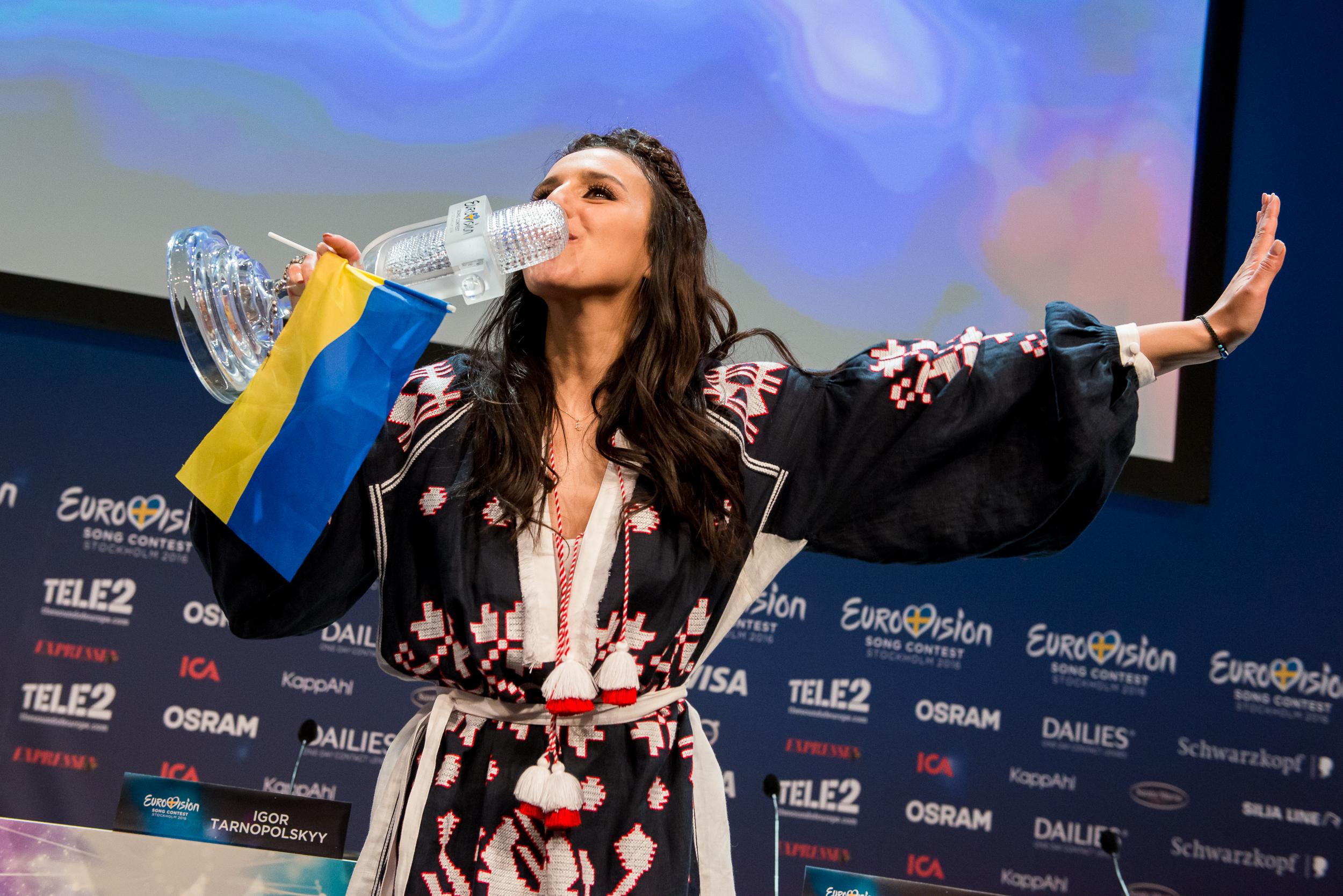 Ukraine vinder Eurovision